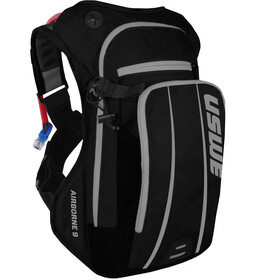 USWE Airborne 9 Hydration Backpack, black/grey